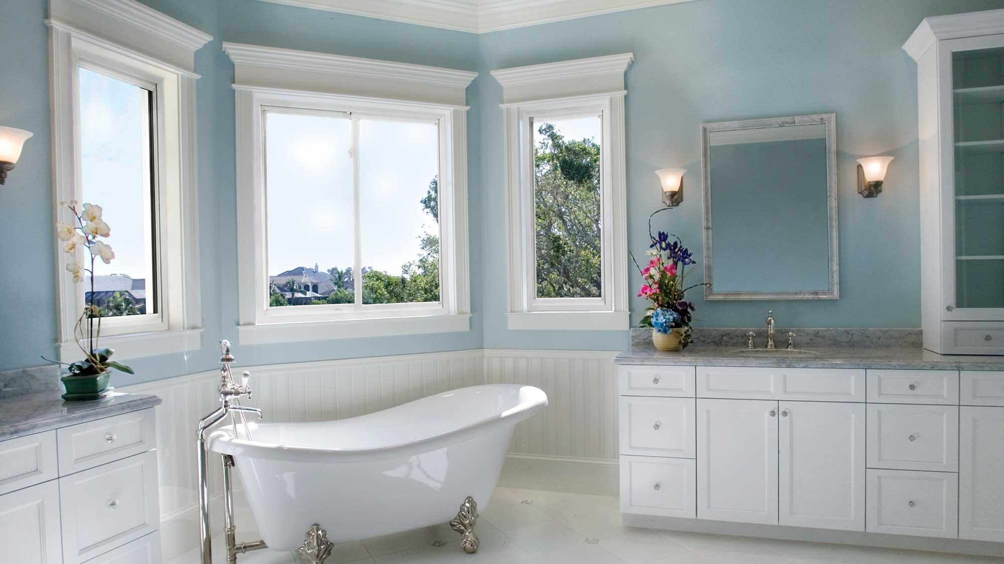 hurricane impact windows bathroom