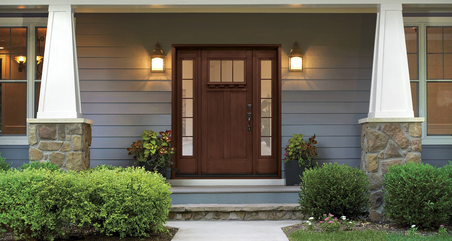 Residential commercial entry doors interior exterior for Residential back doors
