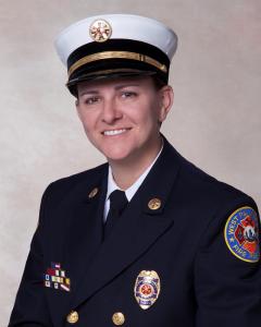 Fire Chief Diana J. Matty