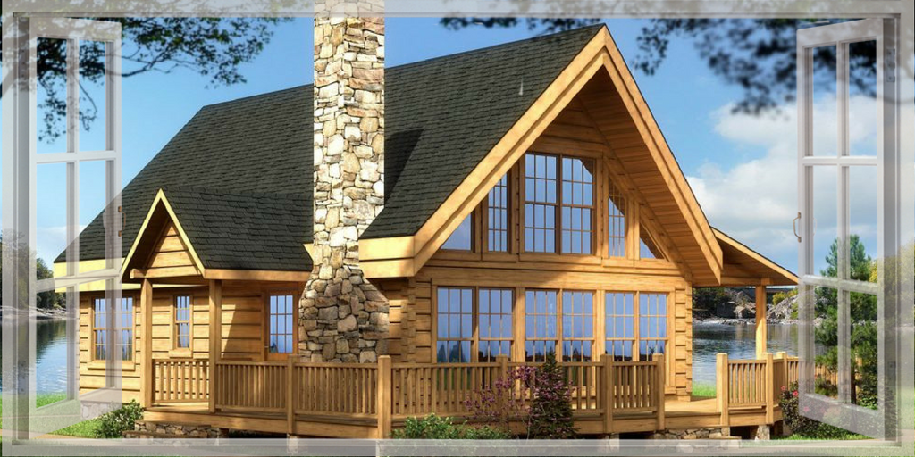 Modern living and our need for windows for Windows for log cabins