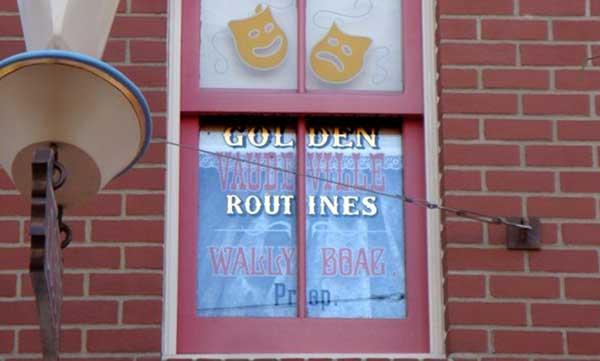 story behind disney windows
