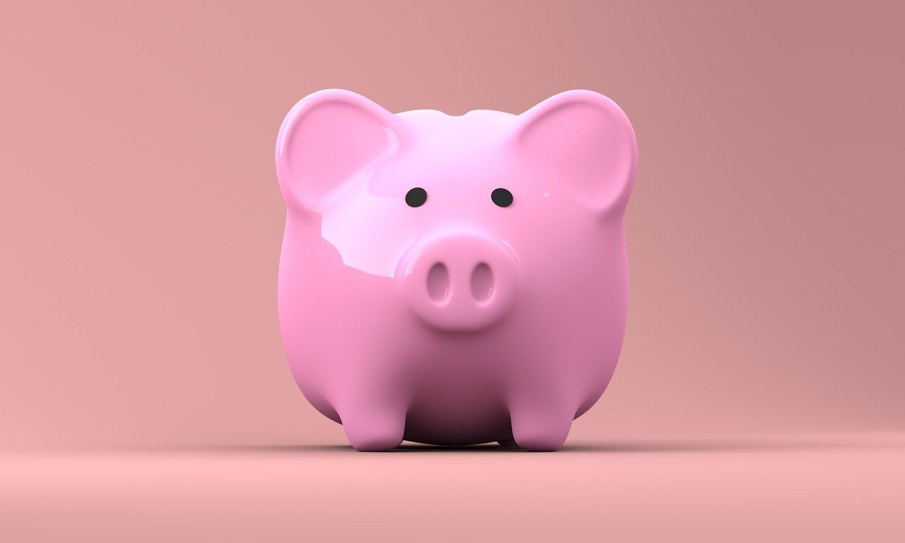 piggy bank save money on high impact windows